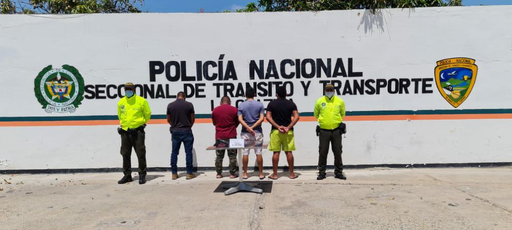 hoyennoticia.com, Piratas terrestres 'Los Albanos' cayeron en La Guajira