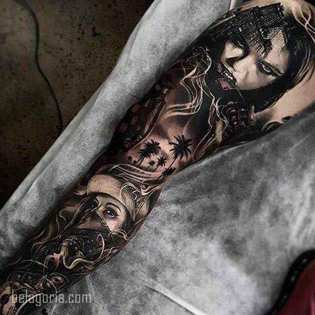 Los Mejores Tatuajes Chicanos Origen Y Su Significado Belagoria