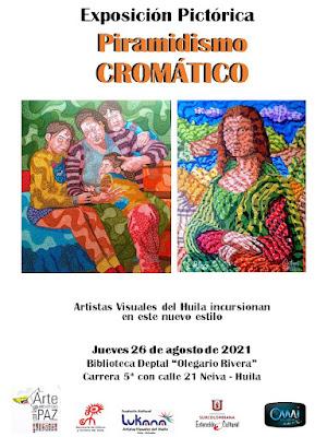 Piramidismo Cromatico en la pintura mundial