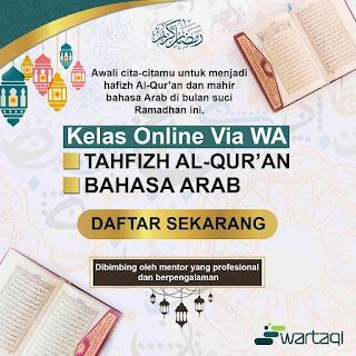 Kelas online tahfidz alquran
