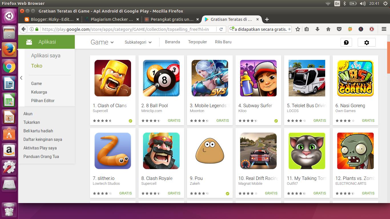 Game Online Balapan