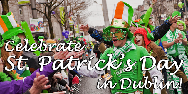 st patrick celebration parade, dumblin happy patricks day parade