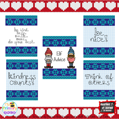 "Kindness elves do not sit on shelves! Instead they help your children at home or students at school do daily good deeds and ""pay it forward"" during the holiday season!"