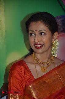 Actress Gauthami Pictures in Saree at Namadhu Movie Press Meet  0023.jpg