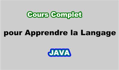Cours de Programmation Java pour Debutant PDF