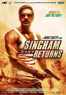 Singham Returns (2014) Hindi 720p BluRay – 950MB