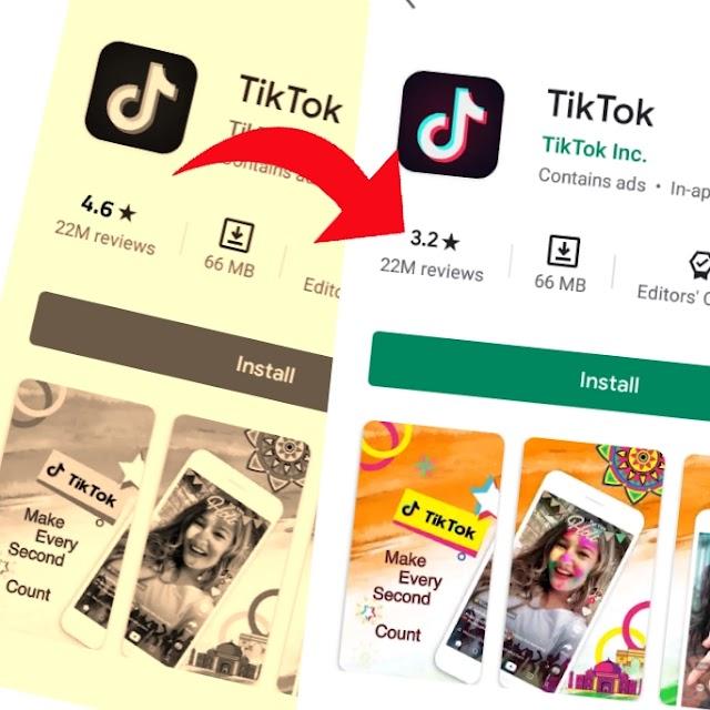 [Reason] Why TikTok App Rating Down very badly