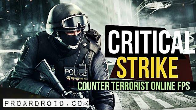 لعبة Critical Strike CS: Counter Terrorist v5.2 كاملة للاندرويد (اخر اصدار) logo