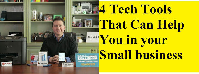 4 Tech Tools That Can Help You in your Small business