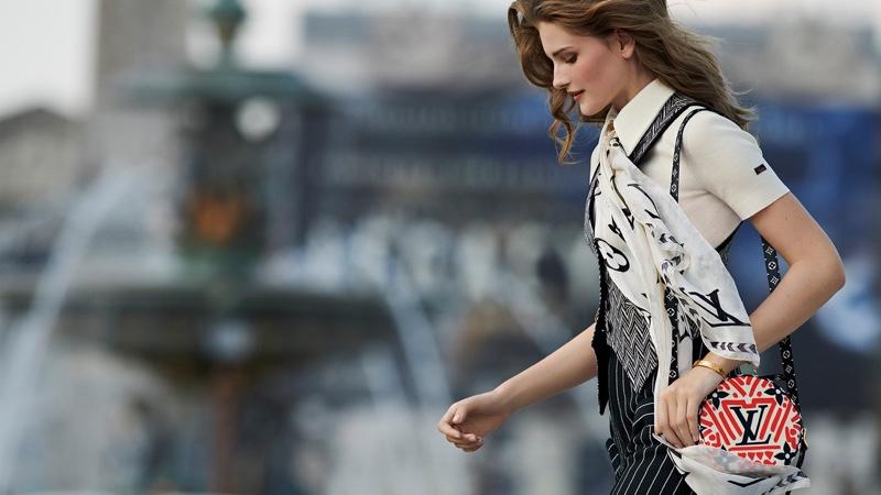 Signe Veiteberg stars in Louis Vuitton LV Crafty campaign.