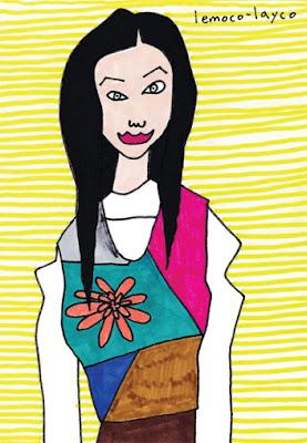 woman 「和の色」 [Colors of Japan]