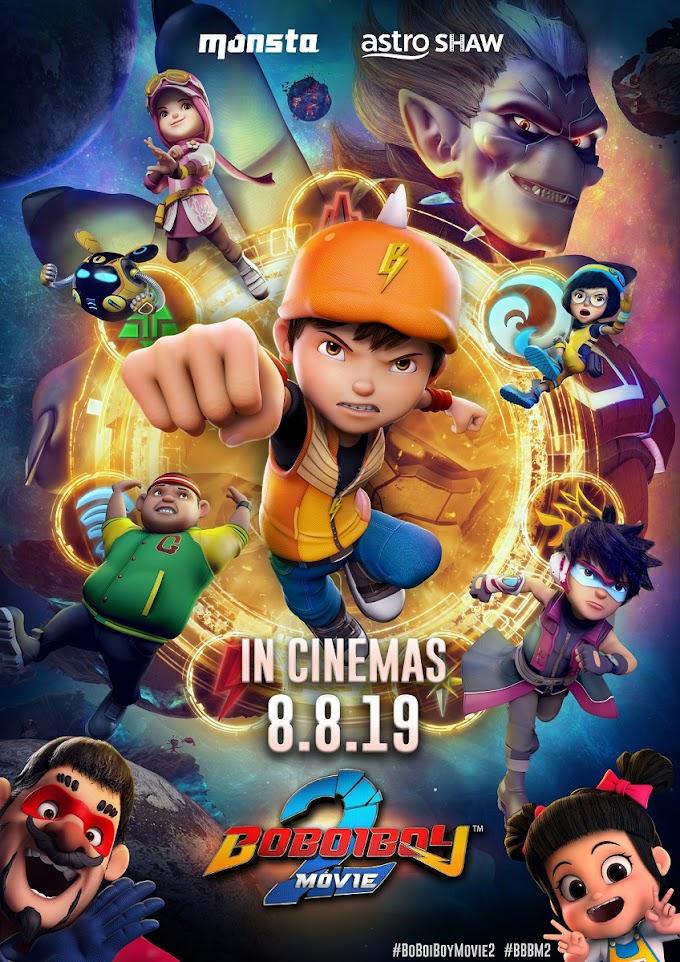 Menonton Boboiboy Movie Dengan Anak-Anak