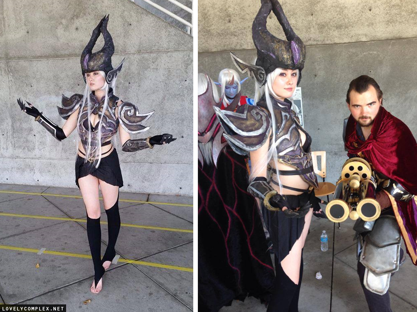 Cosplay game league of legends ahri syndra janna youtube.