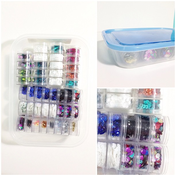 A Vegas Girl At Heart: Washi Tape Catalog & Sequin Storage