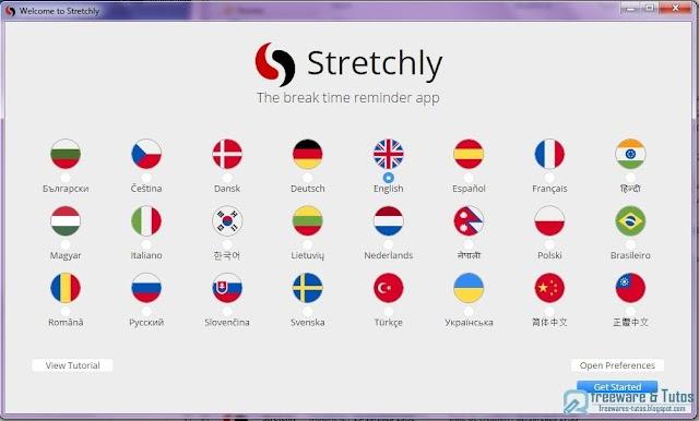 Stretchly : un logiciel pour se rappeler de faire des pauses durant l'utilisation intensive de l'ordinateur