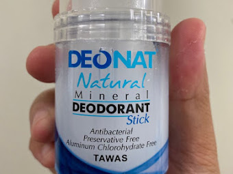 3 Strong Reasons Why I Switched To Deonat Natural Mineral Deodorant Stick