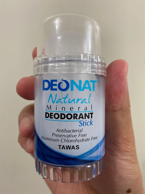 Review of Deonat Natural Mineral Deodorant Stick