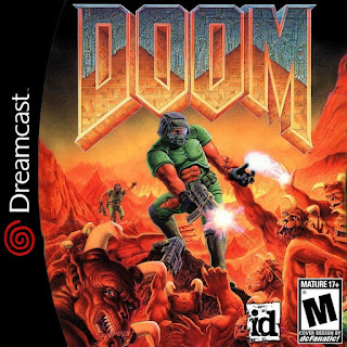 Doom Sega Dreamcast Cover Art