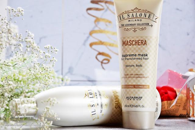 IL SALONE MILANO, szampon + maska I Gentle Day, akcesoria do higieny intymnej.