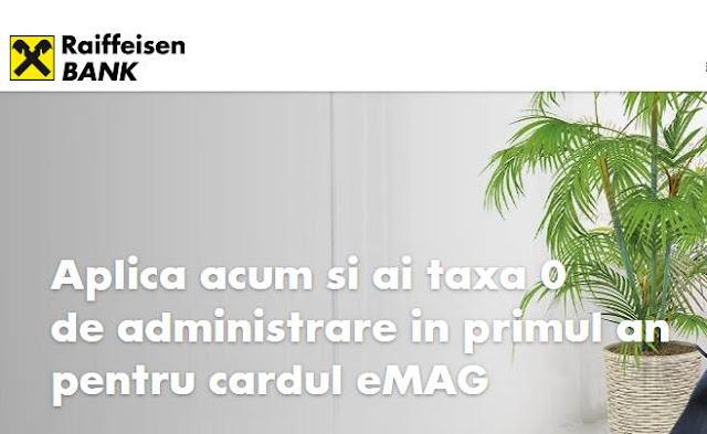 pareri forum OFERTA Raiffeisen Bank Cardul de cumparaturi eMAG
