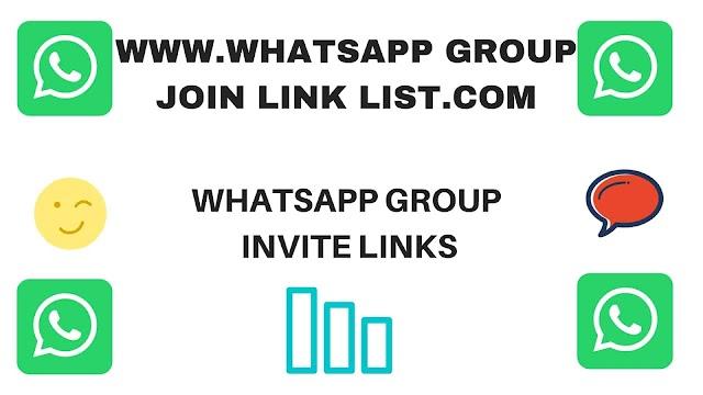 WhatsApp Group Invite Links