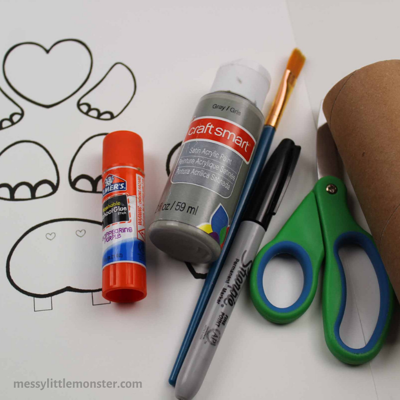 cardboard tube craft supplies