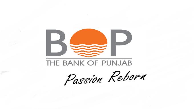 Bank of Punjab (BOP) Jobs 2021 in Pakistan