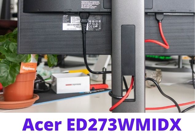 Acer ED273 screen connection