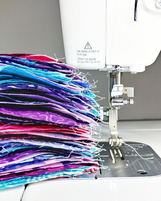 Sewing on my Juki