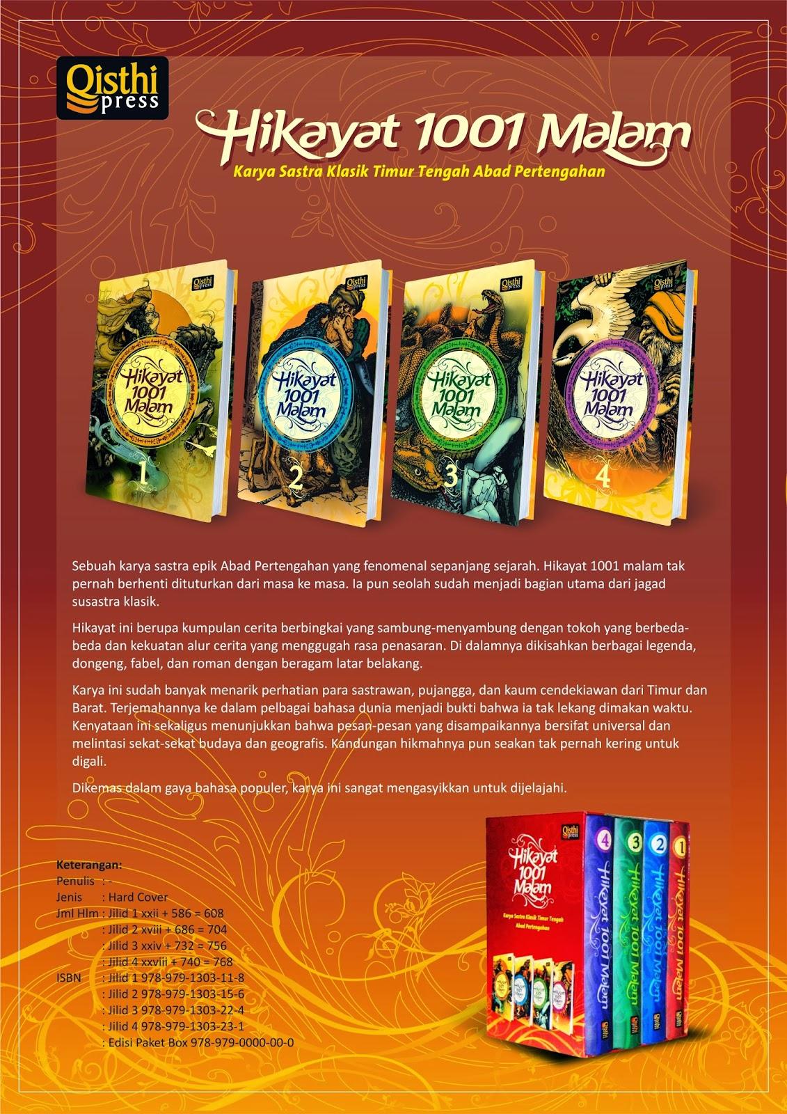 Promosi Buku Hikayat 1001 Malam Harga Murah Buku Hikayat 1001