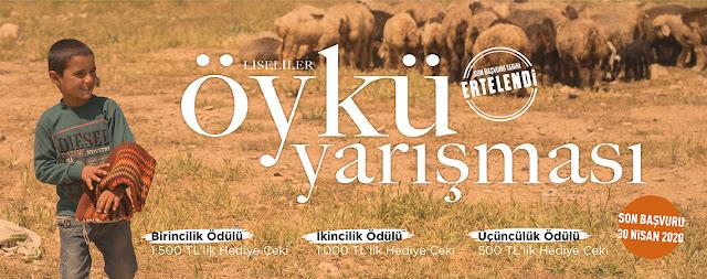 Kapadokya Üniversitesi Öykü Yazma Yarışması