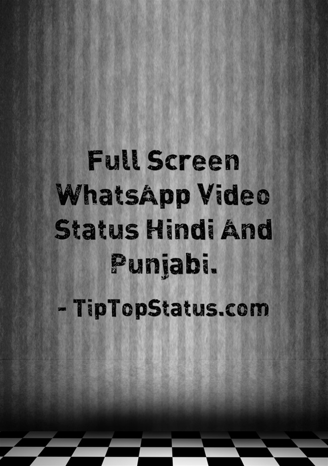 Full Screen WhatsApp Status Free Download 2020