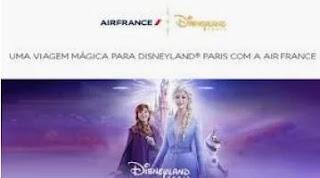 Cadastrar Promoção Air France Dezembro 2019 Viagem Disneyland Paris
