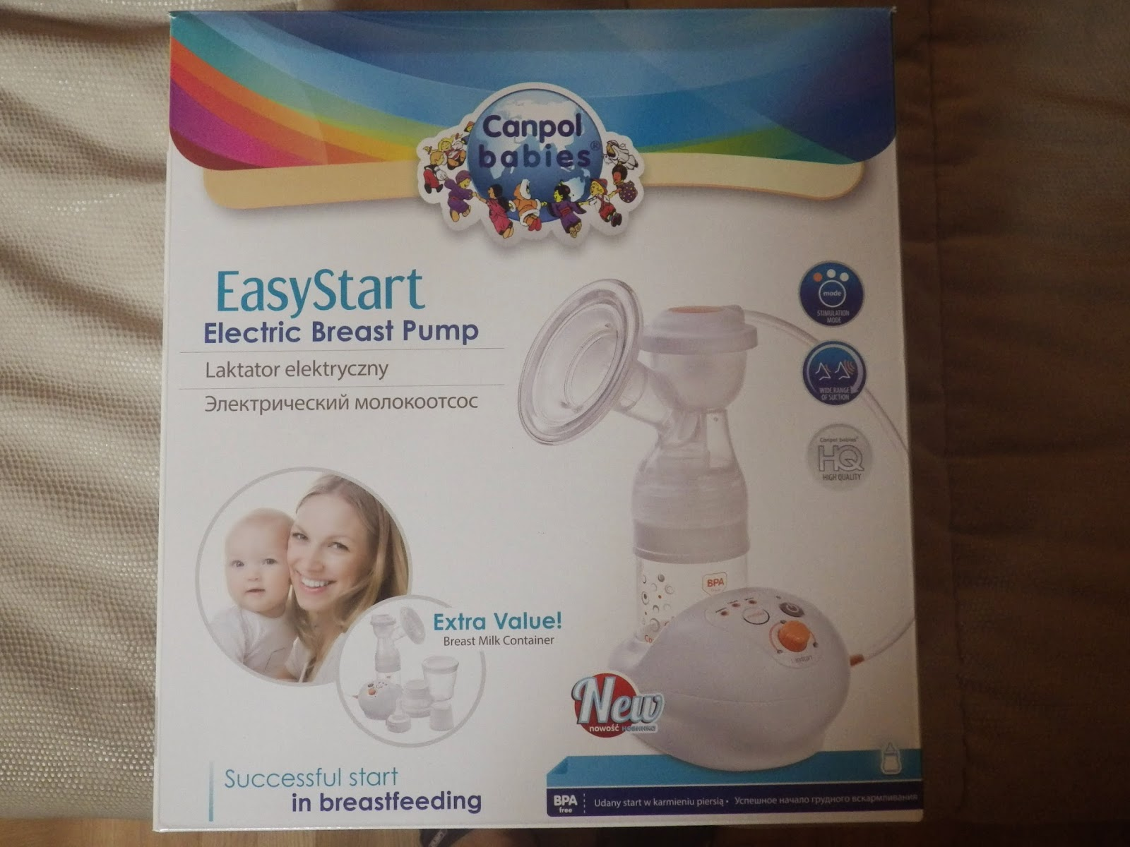 laktator elektryczny EasyStart 12/201 Canpol babies