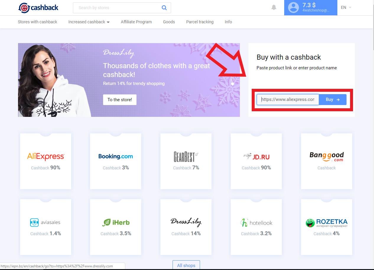 Epn Cashback Cum se utilizează epn cashback în Moldova de pe Aliexpress