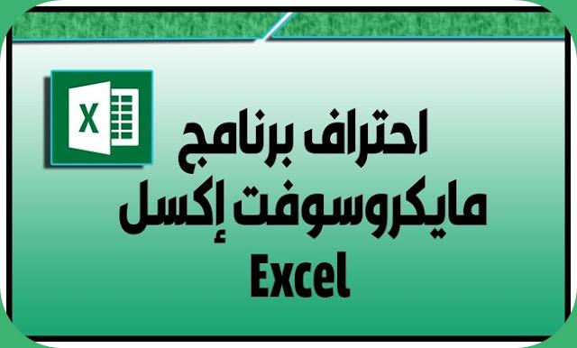 دورة مجانية لاحتراف برنامج مايكروسوفت إكسل Excel مع شهادة مجانية