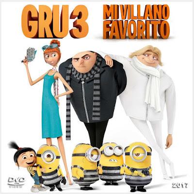 GRU 3 - Mi villano favorito - [2017]