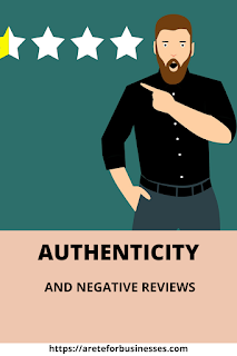 Authenticity and negative reviews on Google