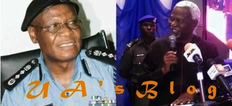 Former police IG Sunday Ehindero docked for alleged fraud.
