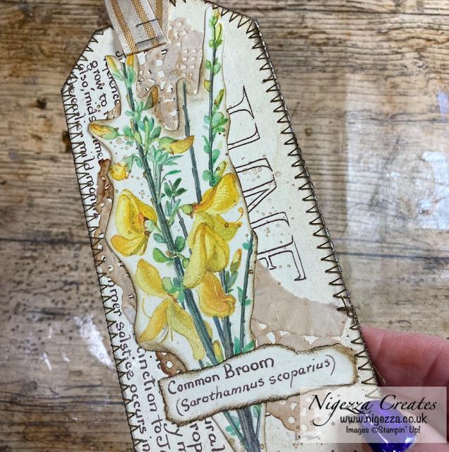 Edith Holden Junk Journal Tags