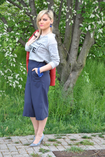 outfit blu e grigio come abbinare il blu e grigio outfit pantaloni culotte blu come abbinare i pantaloni culotte blu pantaloni culotte blu kiabi how to wear blue culotte pants how to combine blue culotte pants spring outfit outfit aprile 2016 outfit primaverili mariafelicia magno fashion blogger color block by felym fashion blogger italiane fashion blog italiani fashion blogger milano blogger italiane blogger italiane di moda blog di moda italiani ragazze bionde blonde hair blondie blonde girl fashion bloggers italy italian fashion bloggers influencer italiane italian influencer