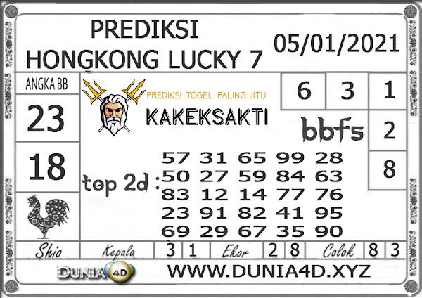Prediksi Togel HONGKONG LUCKY 7 DUNIA4D 05 JANUARI 2021
