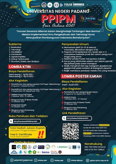 PPIPM FAIR ONLINE 2021