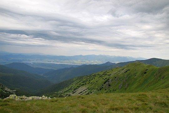 Widok w stronę Tatr.