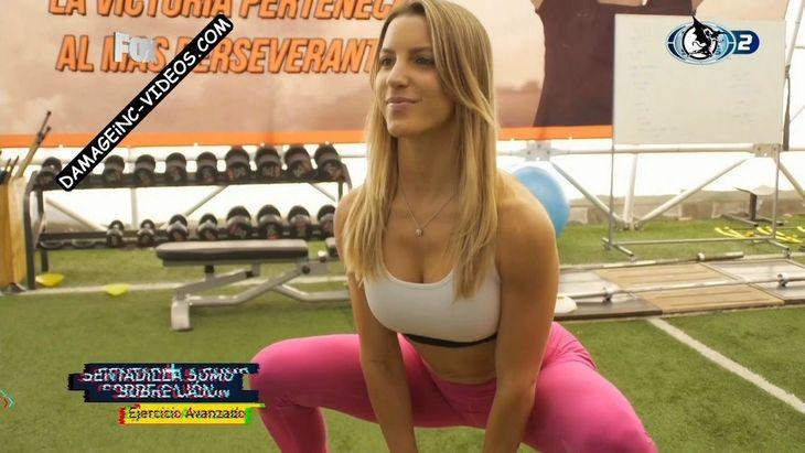 Lucila Vit hot body in pink leggings Damageinc Videos HD