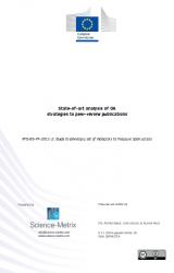 Análisis de las Estrategias de Open Access