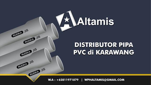 Distributor Jual Pipa PVC di Karawang