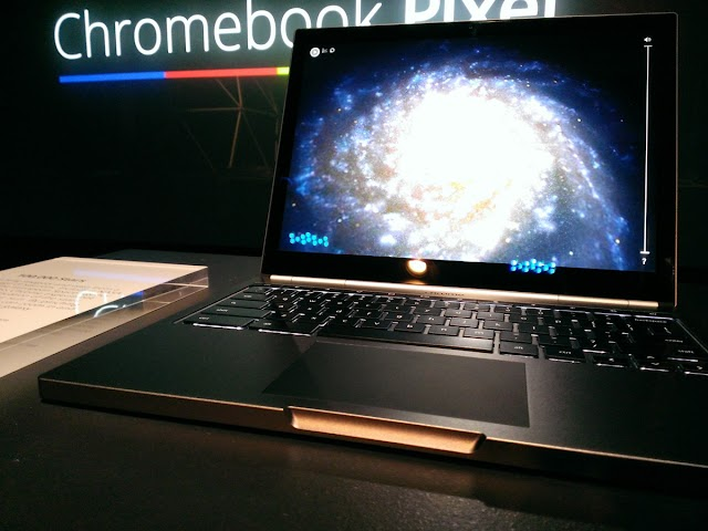 Google's own new laptop 'Chromebook Pixel' released