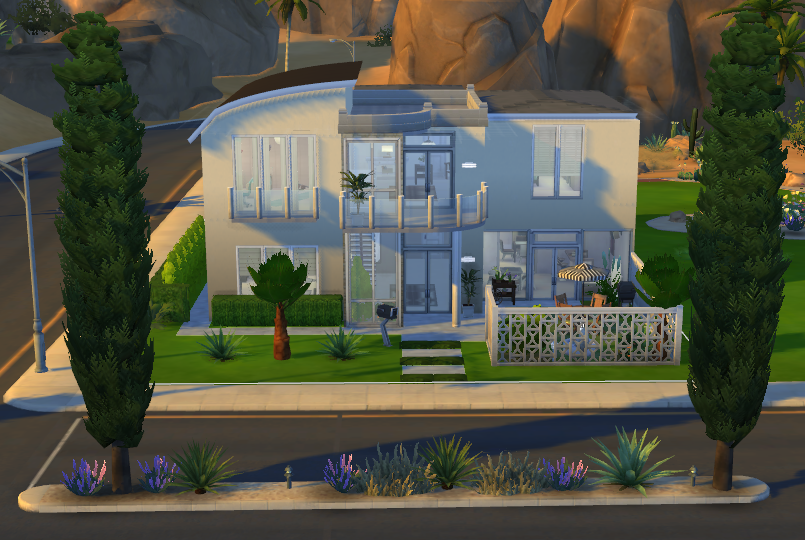 House 01 the sims 4 via sims for Sims 4 piani di casa