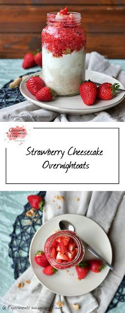 Strawberry Cheesecake Ono   Frühstück   Haferflocken   Weight Watchers   Rezept   Essen   Erdbeeren